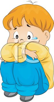 187x350 Little Boy Crying Clipart Royalty Free Clip Art Image Sad