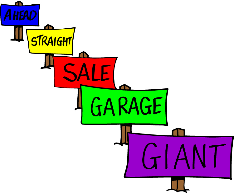 750x620 Giant Garage Sale Clip Art The Woman's Club Of Upper Saddle River