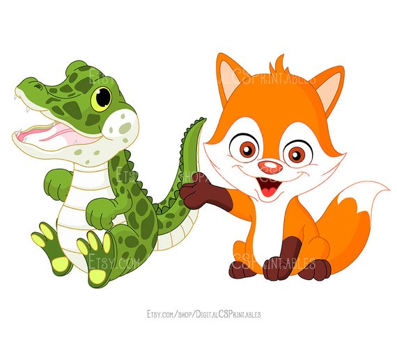 570x485 Cute Animal Clipart Kids Clipart Cute Clipart Safari Animal