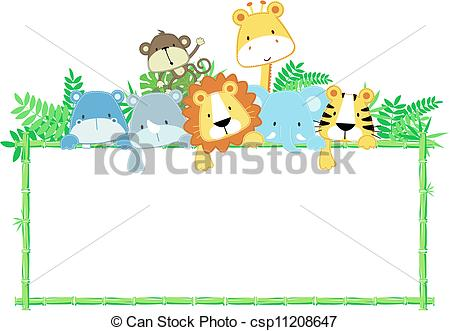 450x331 Inspirational Design Ideas Jungle Baby Clipart Safari Animals Zoo