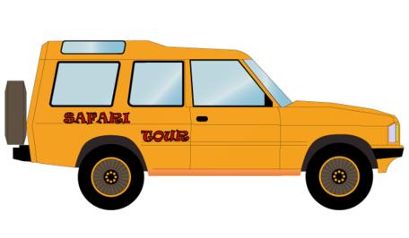 456x266 Free Safari Off Road Car Vector Free Clipart And Vector Graphics