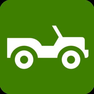 300x300 Jeep Green Clip Art