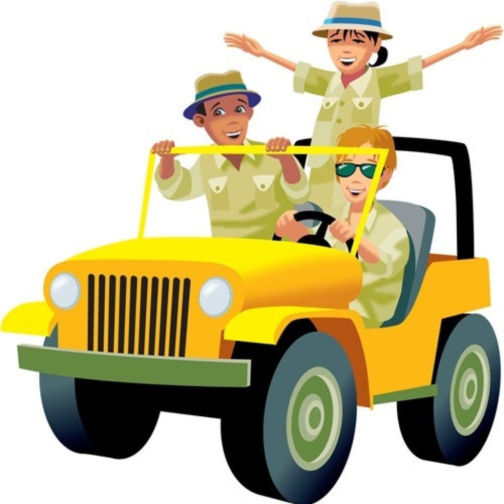 1024x1024 Safari Jeep Clipart