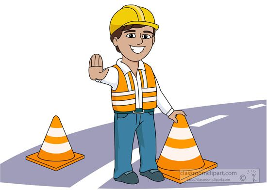 550x392 Road Construction Safety Clipart 20153.jpg Construction Theme