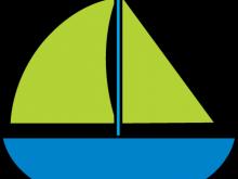 220x165 Sailboat Clip Art White Sailboat Clipart Nautical Wedding Clipart