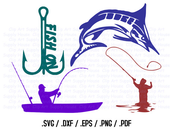 570x428 Fishing Svg Sailfish Clip Art Fishing Sport Design Files