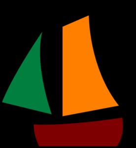276x300 Sailing Boat White Clip Art