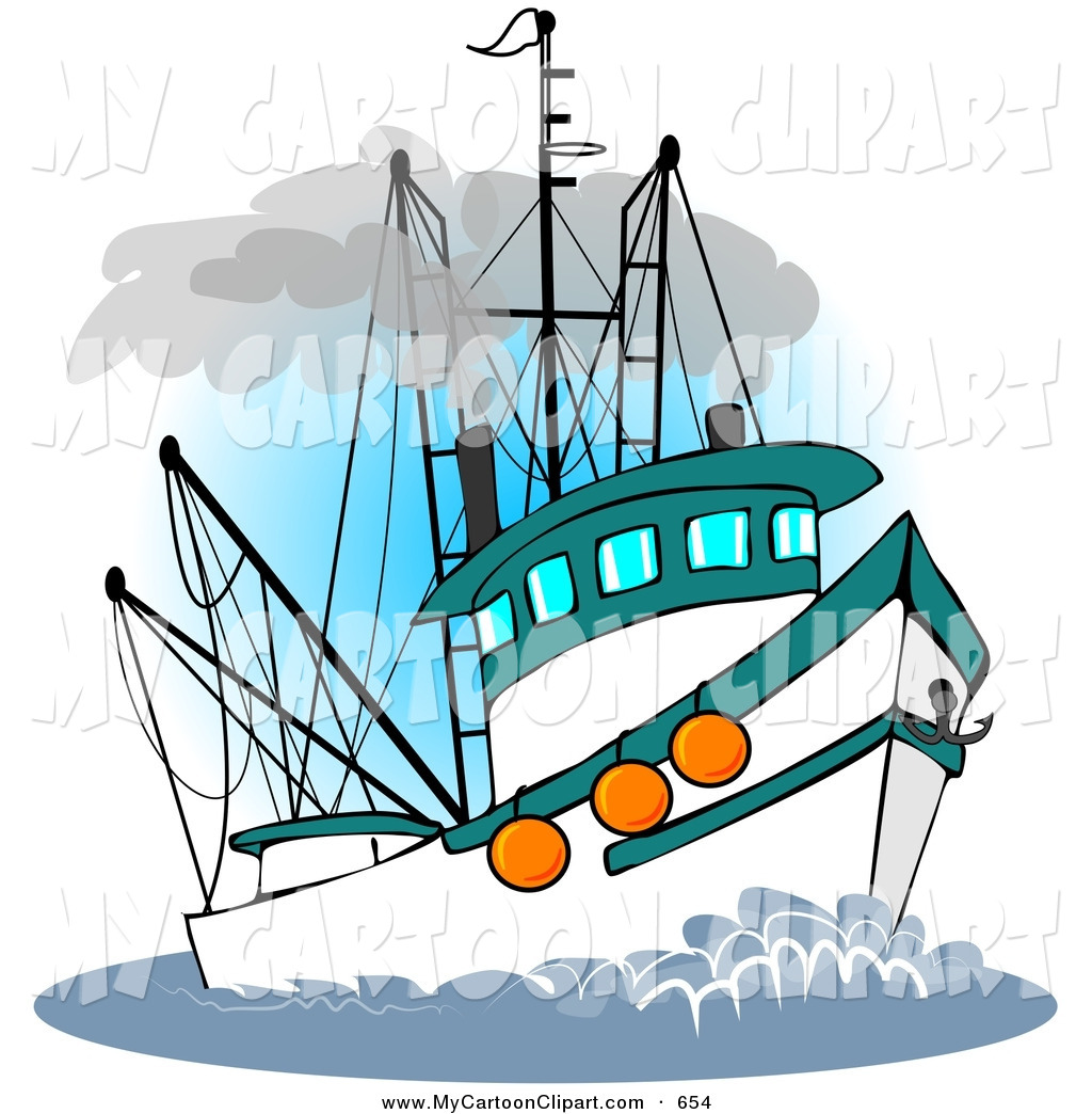 1024x1044 Clipart Fishing Boat Sea Clipart Clip Art Of A Trawler Fishing