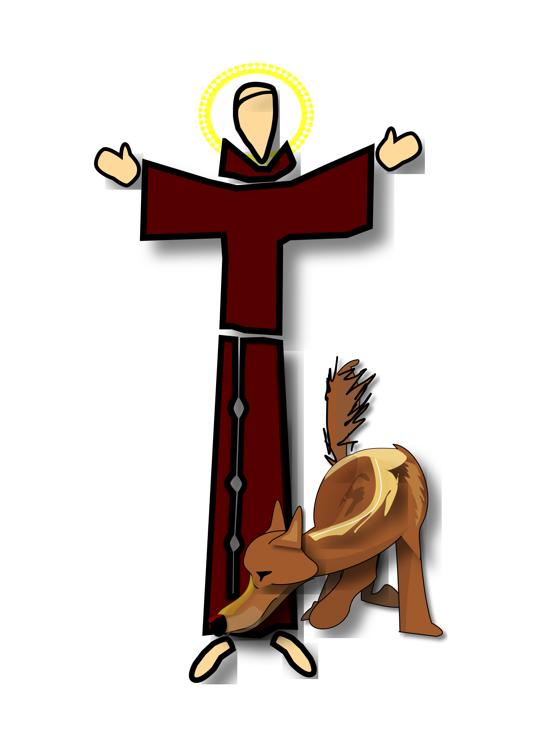 Saint Francis Clipart at GetDrawings.com | Free for personal use ...