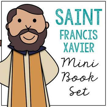 350x350 Saint Francis Xavier Biography Mini Book In 3 Formats, Catholic