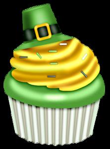 222x300 St. Patrick's Day Cupcake Clip Art Clip Art