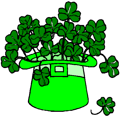 490x473 St. Patrick's Day Clipart Black And White St. Patrick's Day 2016