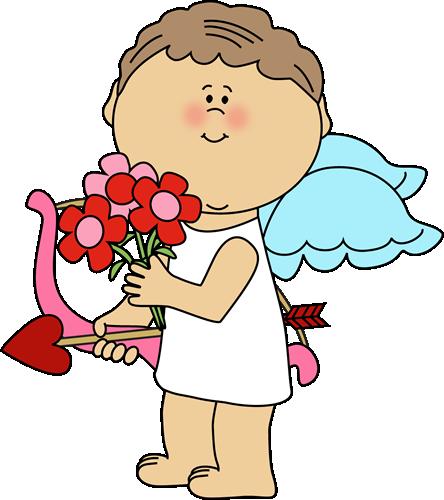 444x500 Valentines Day Cupid Clip Art Valentine's Day Info