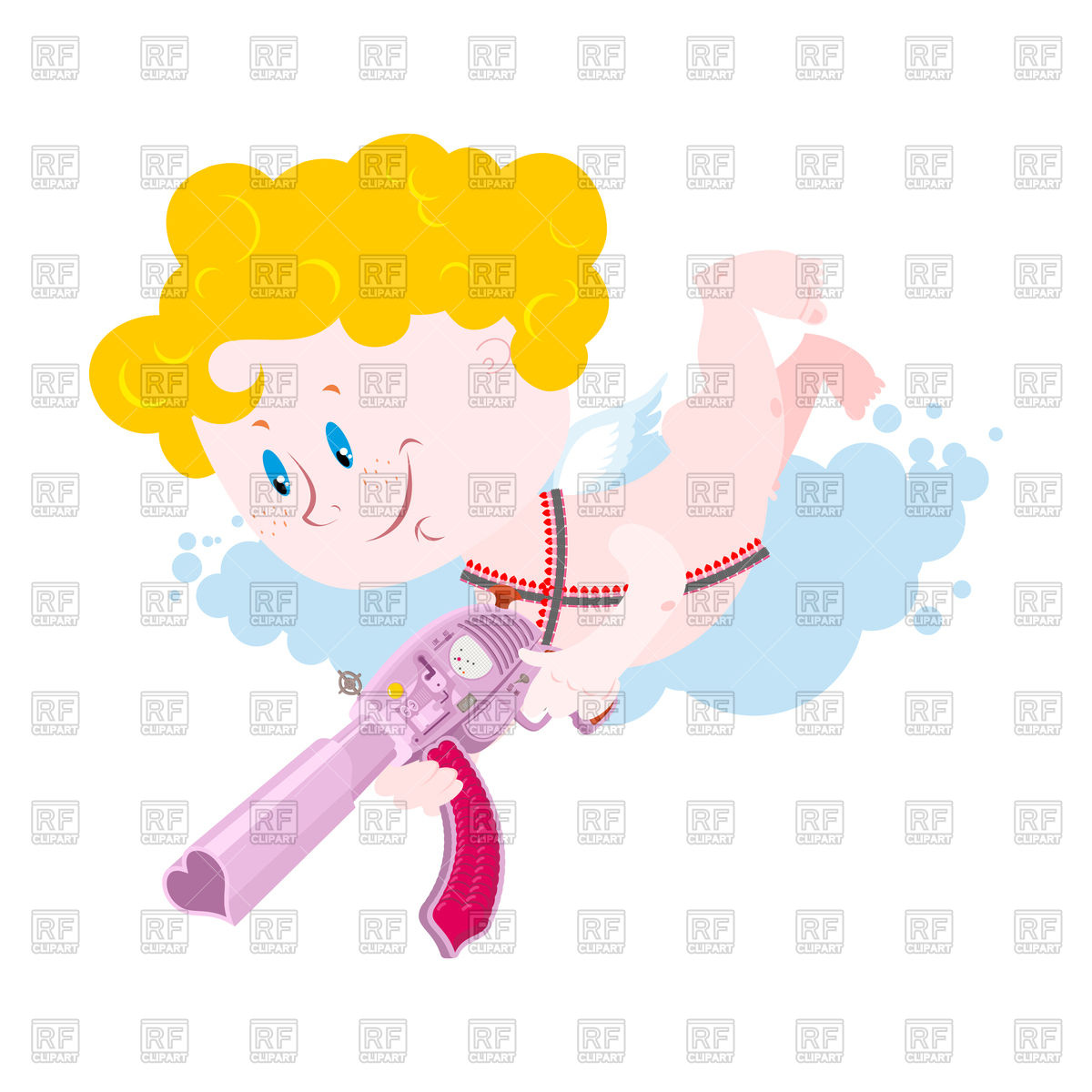 1200x1200 Cupid And Weapons. Cute Little Angel For Valentines Day Royalty