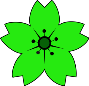 300x288 Sakura Clipart Petal