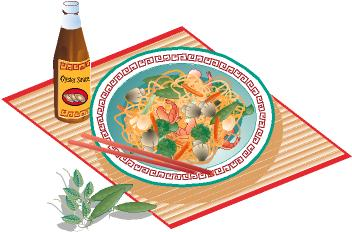 352x232 Salad Clipart Food