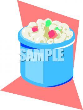 266x350 Small Crock Of Macaroni Salad