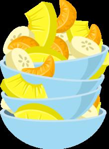 219x298 Exotic Fruit Salad Clip Art