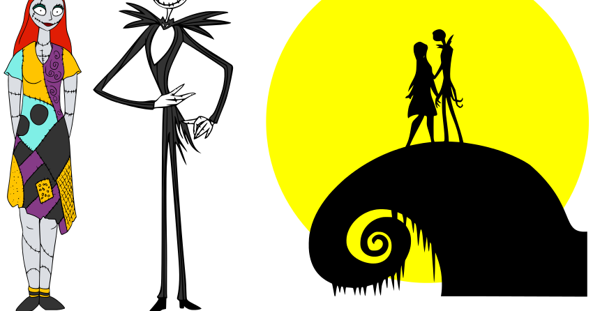 850x446 Collection Of Nightmare Before Christmas Characters Clipart