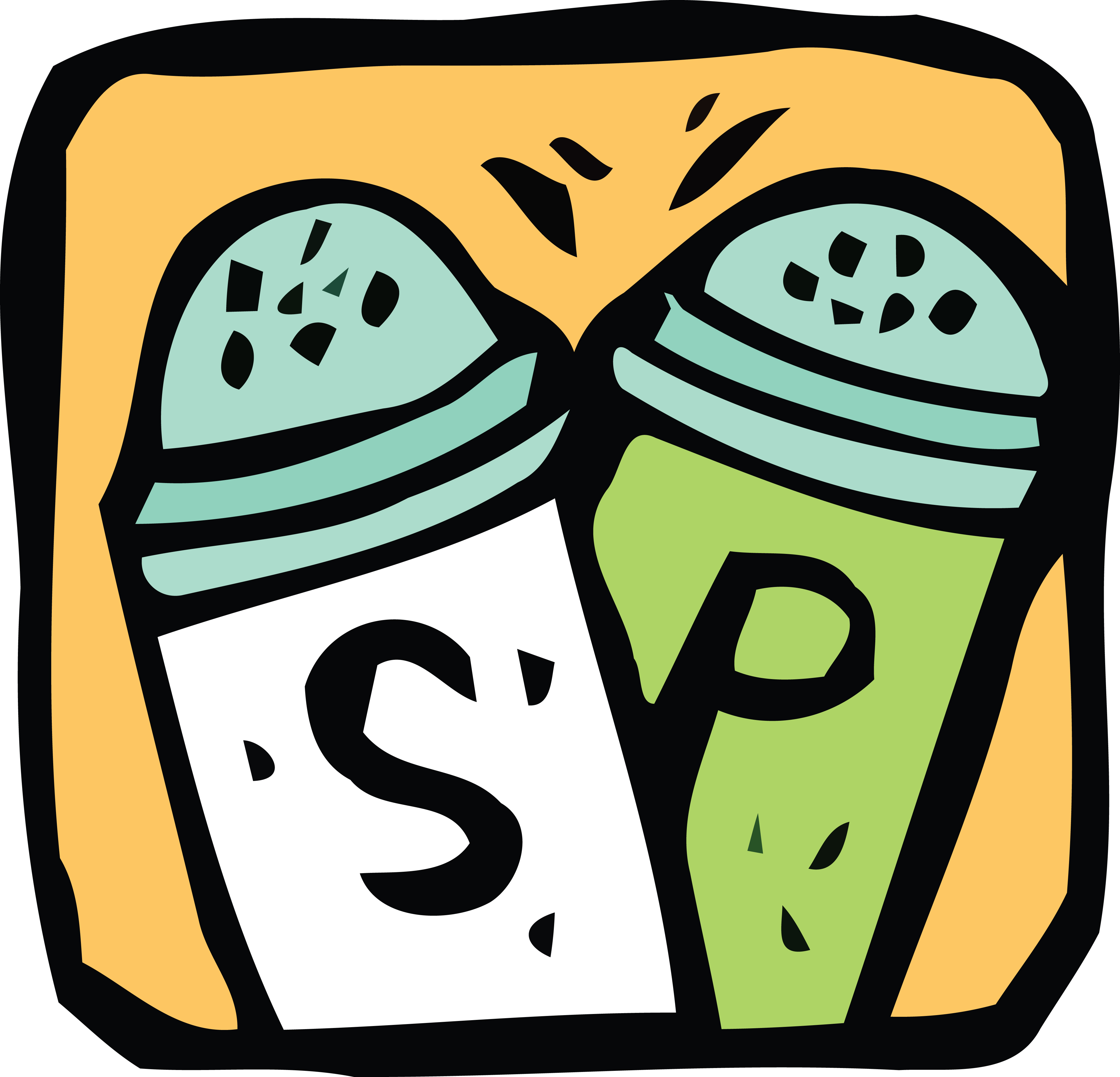 4000x3846 Free Clipart Of Salt And Pepper