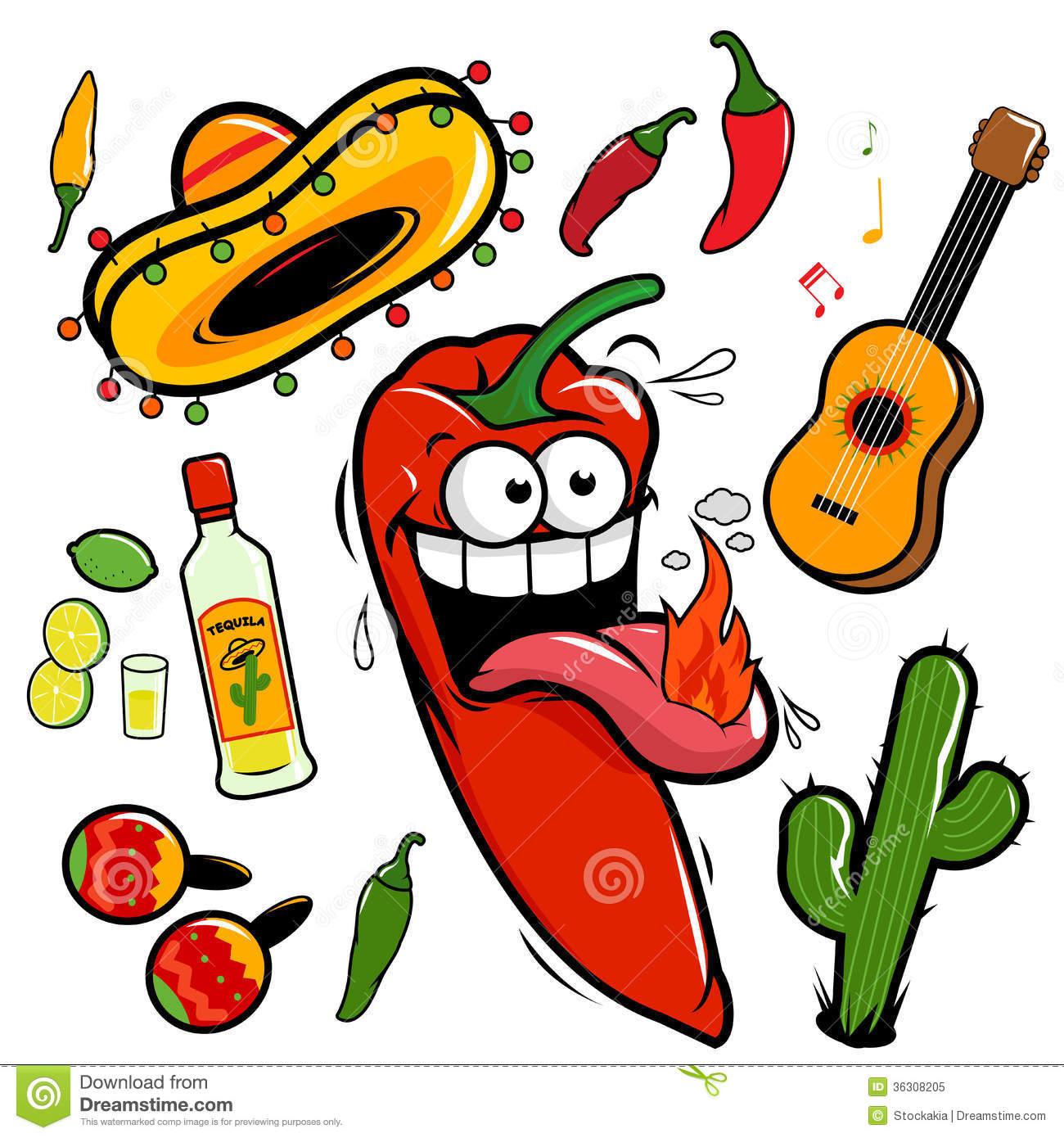 1300x1390 Pepper Clipart Mexican