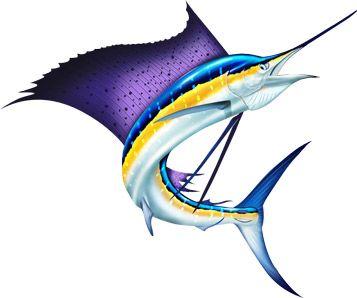 357x298 Marlin Clipart Fish