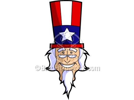 432x324 Cartoon Uncle Sam Clip Art Uncle Sam Graphics Clipart Uncle