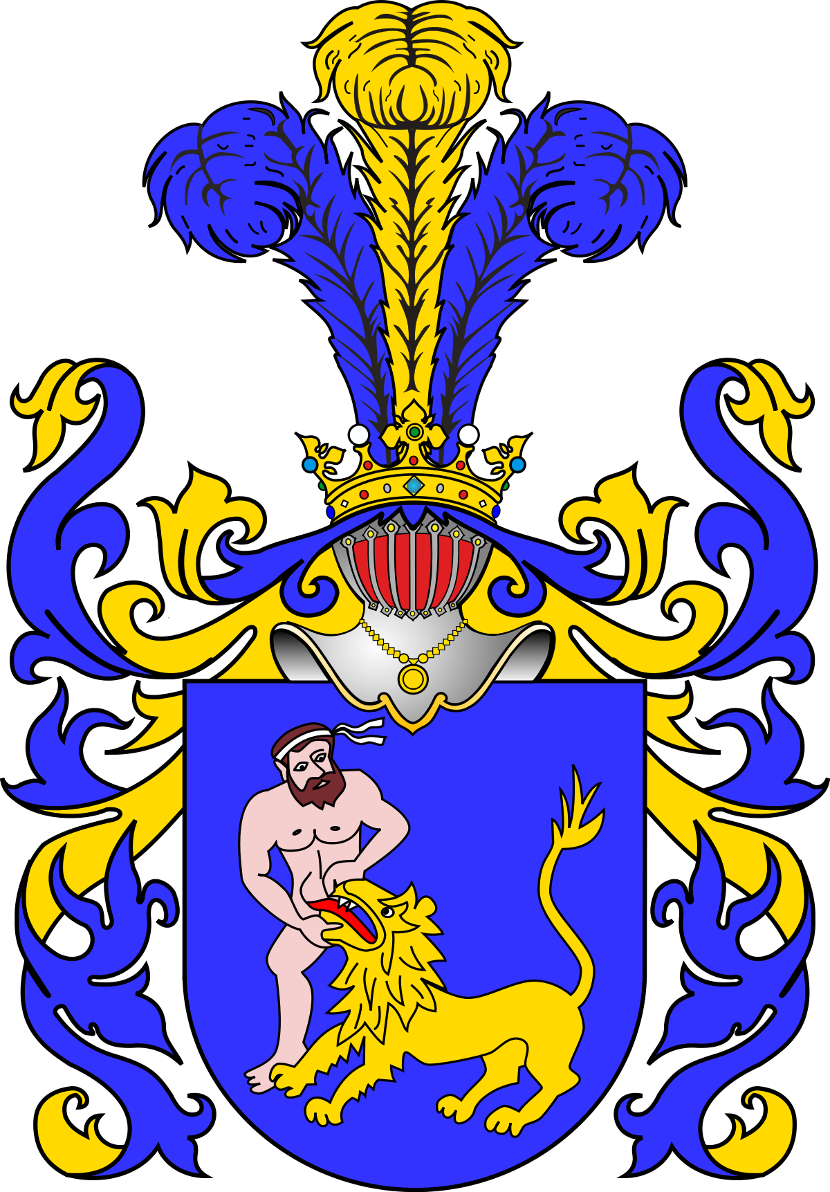1200x1723 Samson Coat Of Arms