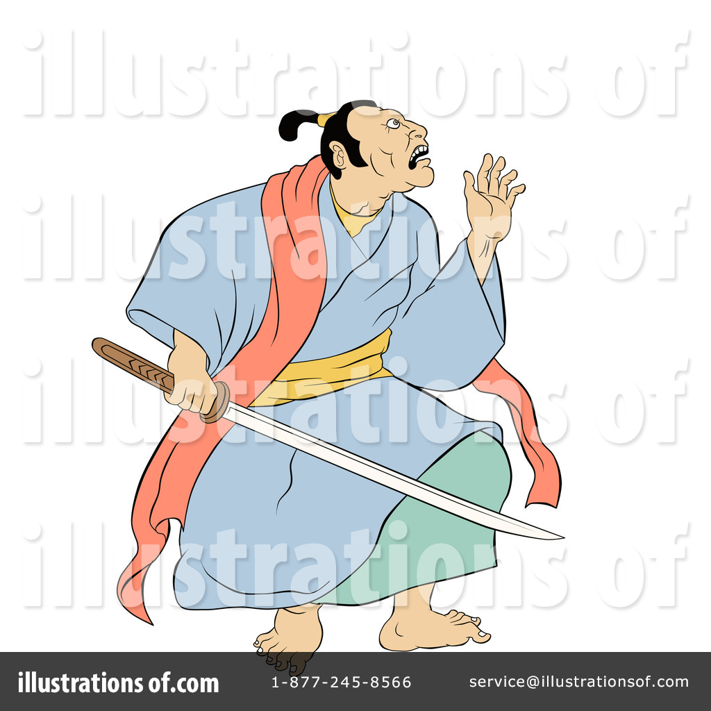 1024x1024 Samurai Warrior Clipart