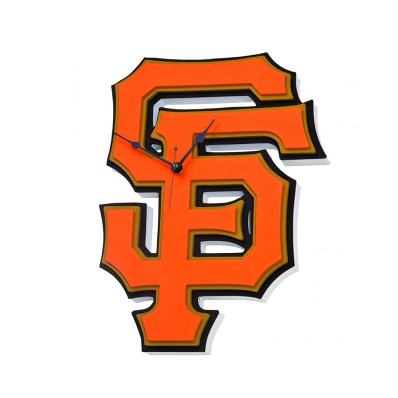 800x800 San Francisco Giants Foam Clock