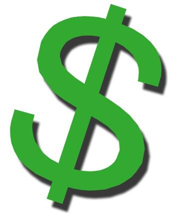 350x425 The Dollar Clipart
