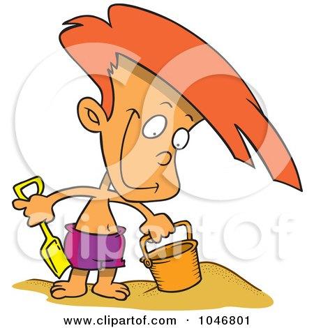 450x470 Royalty Free (Rf) Cliprt Illustration Of Cartoon Sandman On