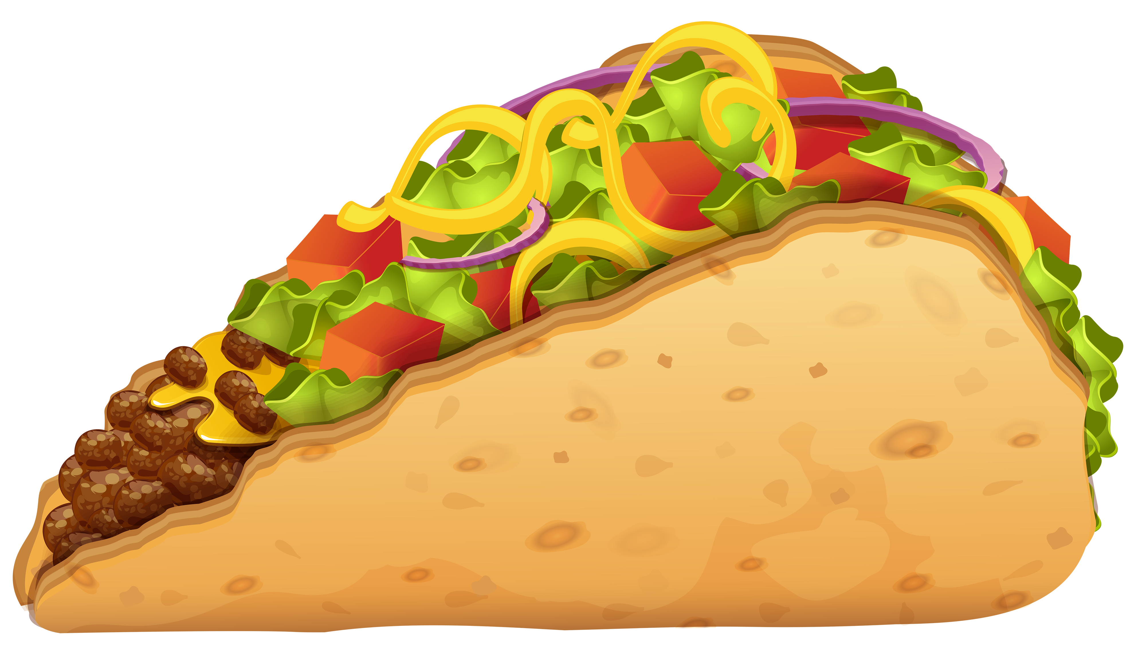 4000x2310 Sandwich With Onion And Lettuce Png Clipart