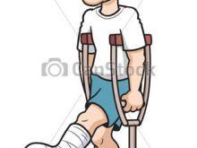 220x165 Hurt Foot Clipart Broken Foot Sandy The Social Butterfly Social