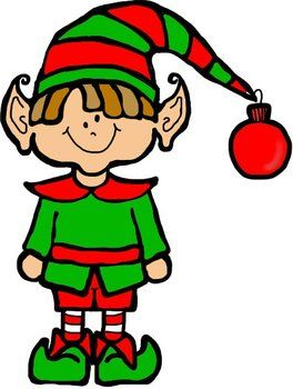 264x350 Oodles Of Doodles Santa And Elf Christmas Clip Art Clip Art