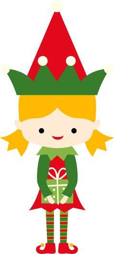 236x525 Christmas Boy Elf Clip Art Clip Art