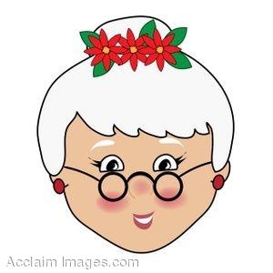 300x300 Clip Art Of Mrs Claus