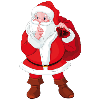 320x320 Santa Claus Page 1