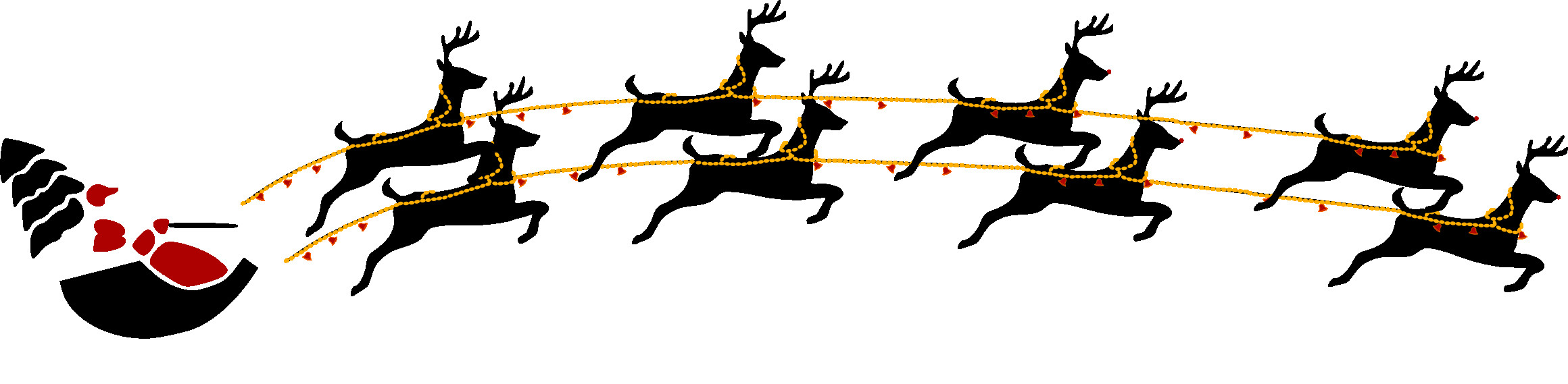 2320x569 Cute Reindeer Clip Art Clipart Free Holiday Christmas Magnificent