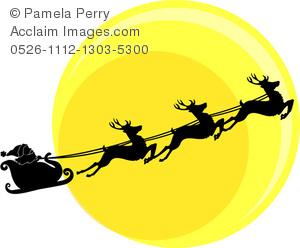 300x248 Moon Clipart Christmas