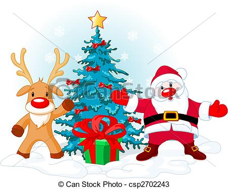 450x373 Rudolph The Red Nose Reindeer Vector Clip Art Eps Images. 82