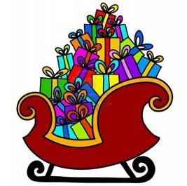santa and sleigh clipart at getdrawings com free for personal use rh getdrawings com sleigh clipart black sleigh clipart images free