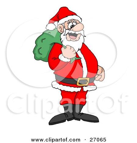 450x470 Cartoon Of A Rodeo Santa Riding A Bucking Rudolph Reindeer