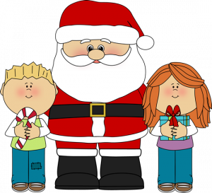 300x273 Father Christmas Clipart Childs Christmas Clipart Santa And Kids