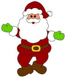 236x281 Free Santa Claus Clip Art Image Clipart Illustration Of Santa 2