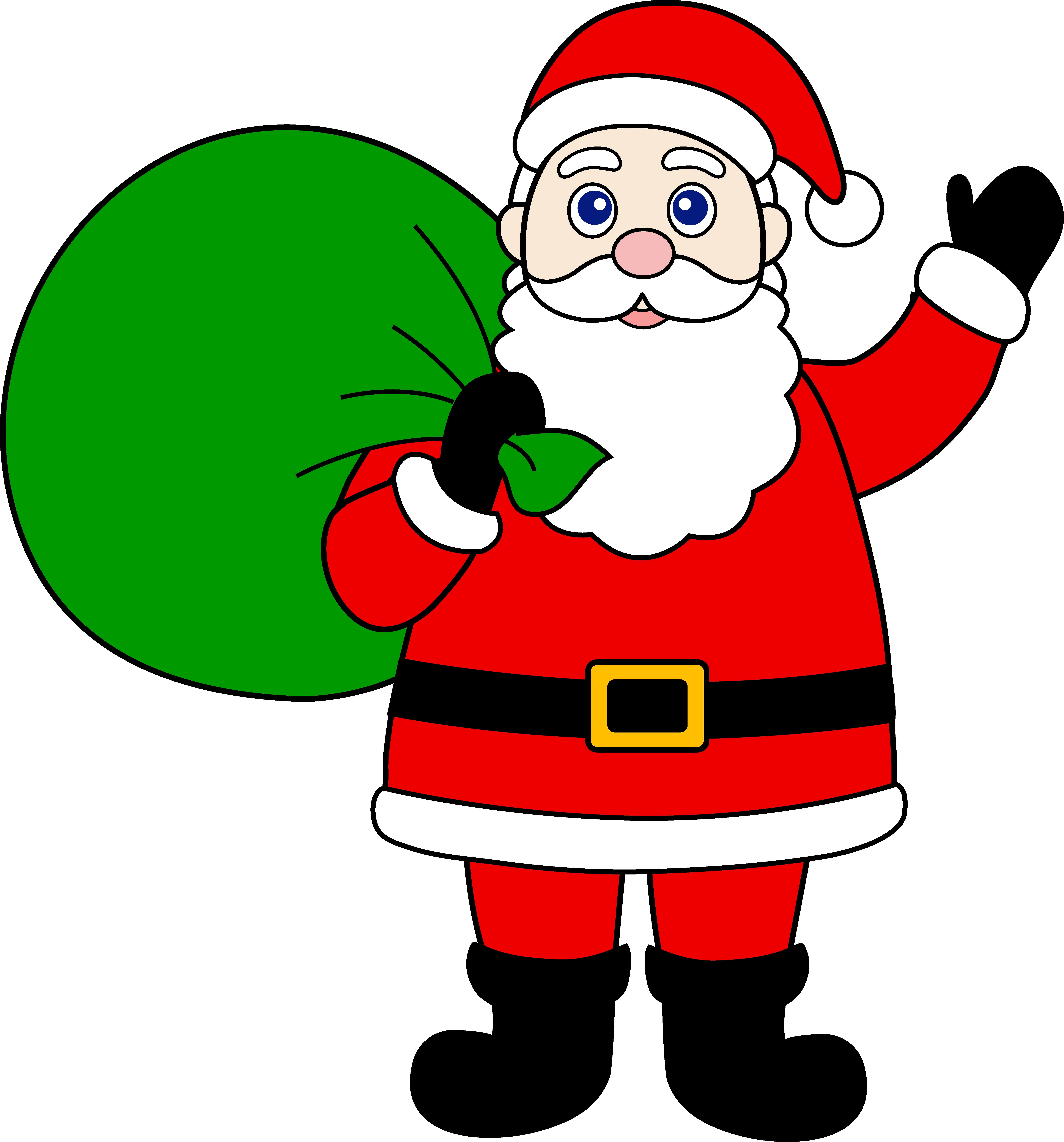 7060x7577 New Santa Clipart Design