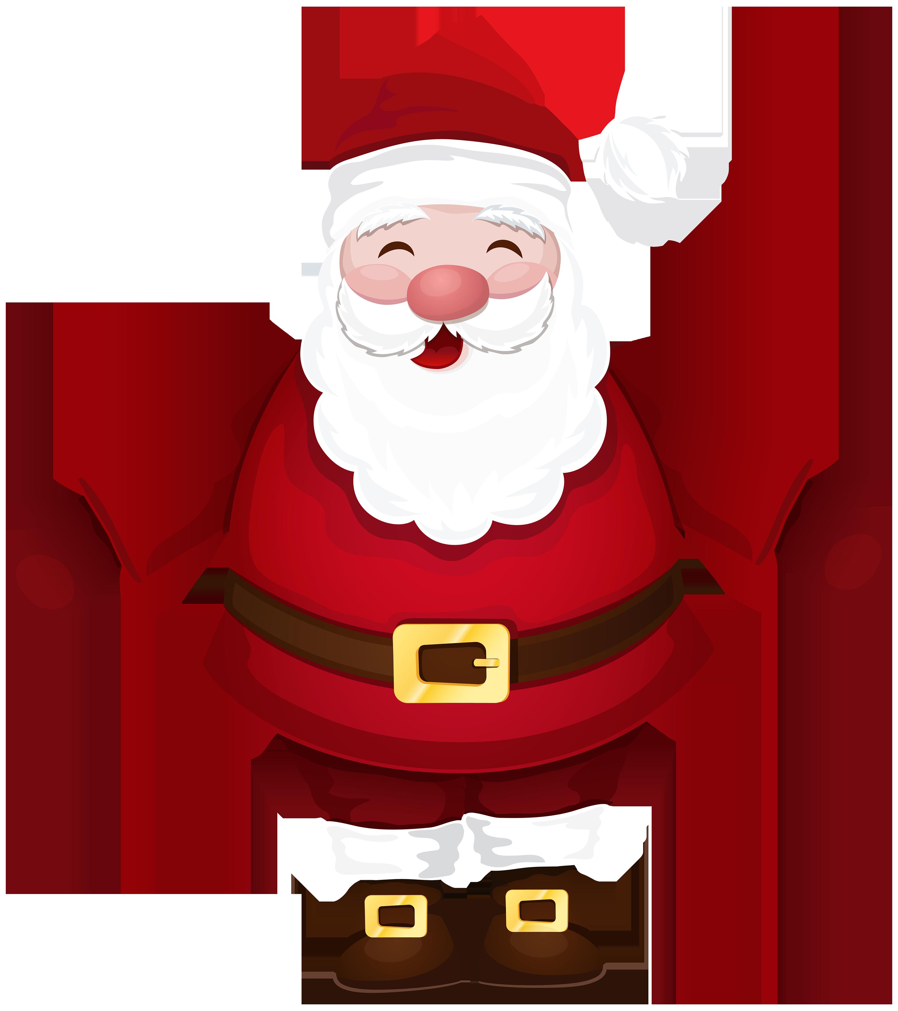 3109x3500 Santa Claus Png Clipart