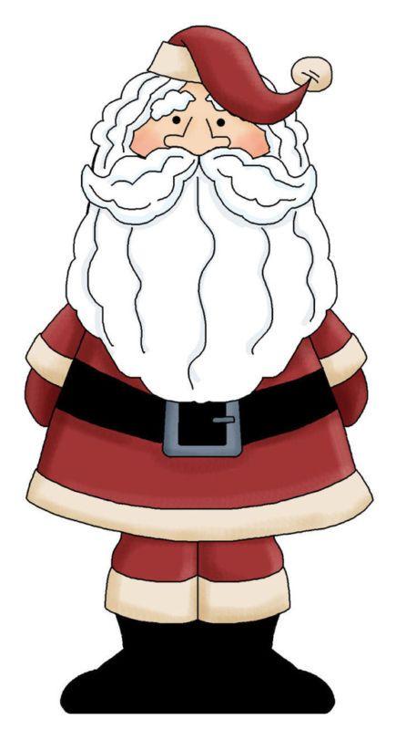 435x800 Christmas Santa Clip Art Clip Art