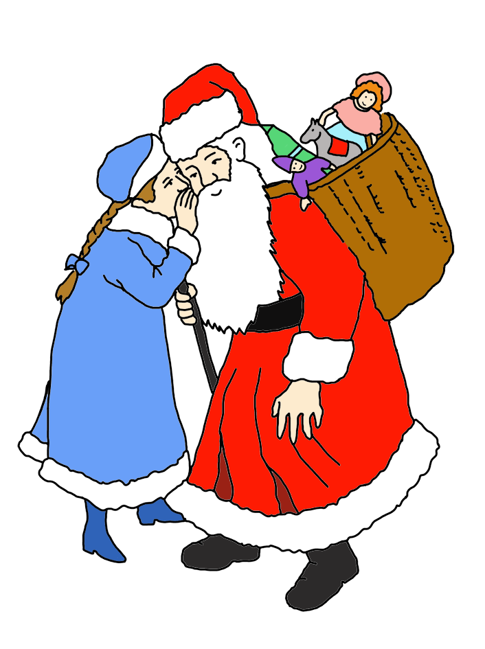 Desktop Background 706x945 Funny And Free Santa Claus Clipart