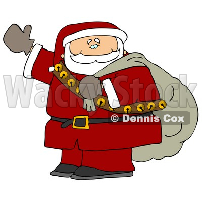 400x400 Santa Claus Is Coming To Town Clipart Picture Djart
